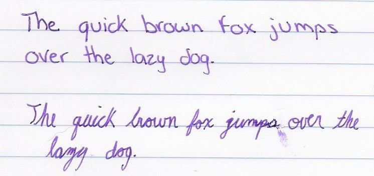 the quick brown fox jumps over the lazy dog font