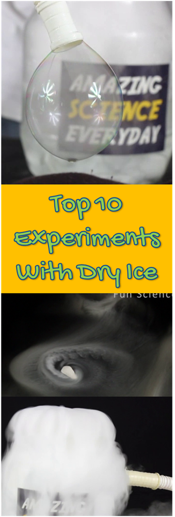 Top 10 Dry Ice Experiments For Kids At Home And School Clickt O