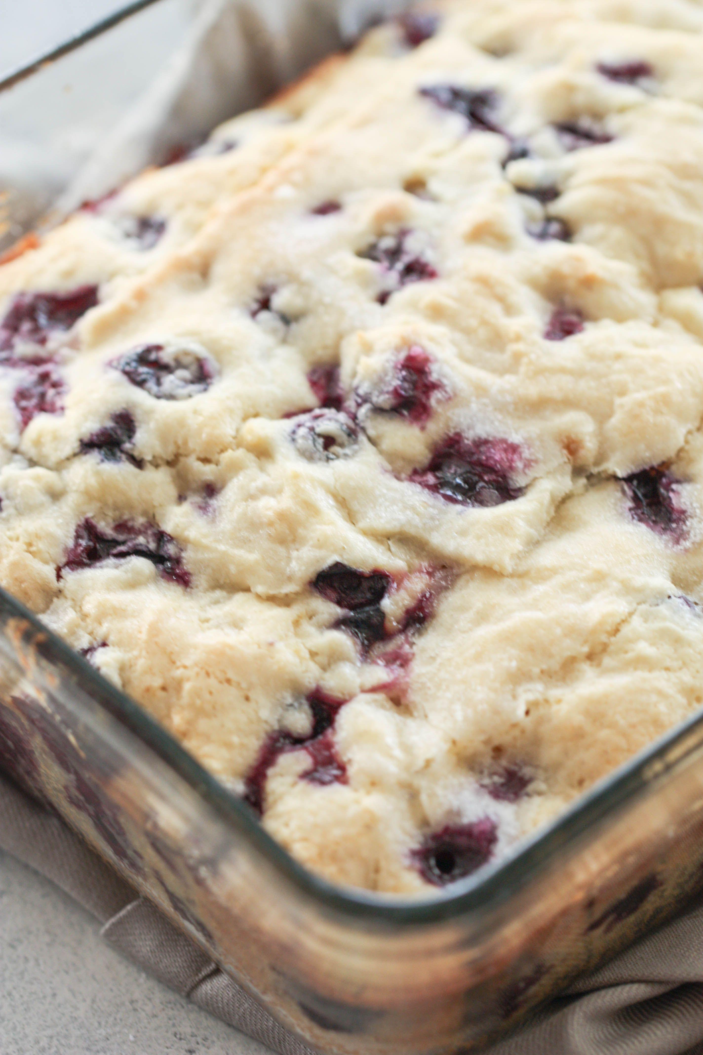 Lemon Blueberry Breakfast Cake #buttermilkblueberrybreakfastcake