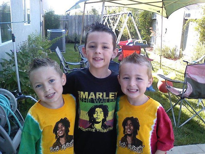 Bob Marley Tees for Kids #rastaempire