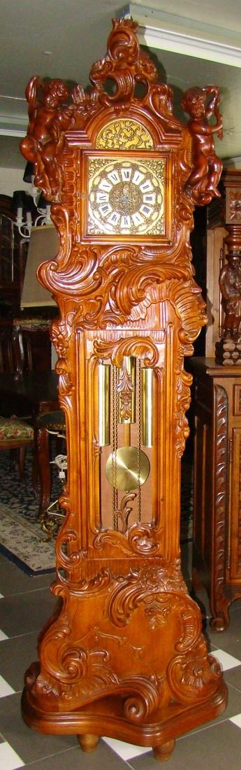 Extraordinary And Charming Grandfather Clock Price Drastic Reduced