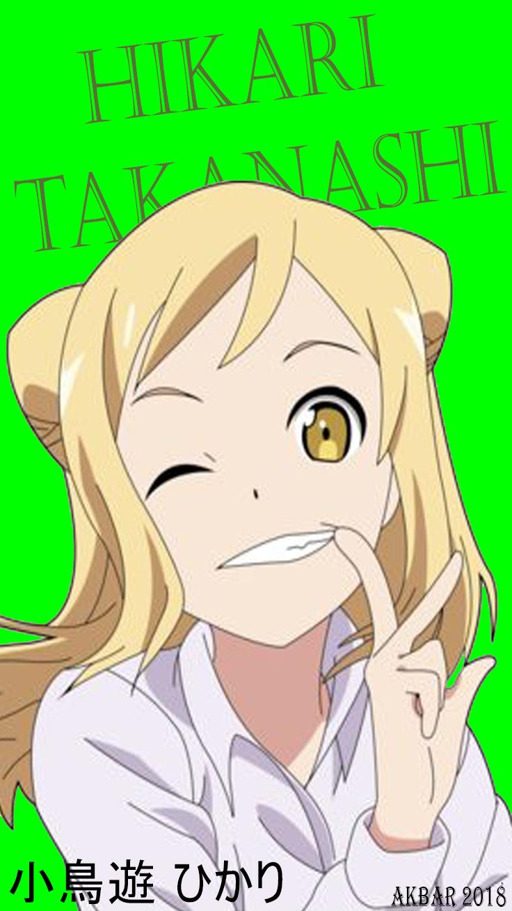 Hikari Takanashi Anime Demi Chan Wa Kataritai