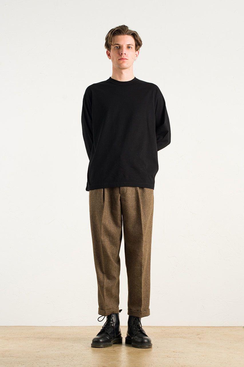 Menswear | Volk Wool Trousers, Hazel