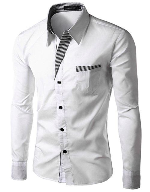 Brand-2016-Dress-Shirts-Mens-Striped-Shirt-Slim-Fit-Chemise-Homme-Long-sleeve-Me