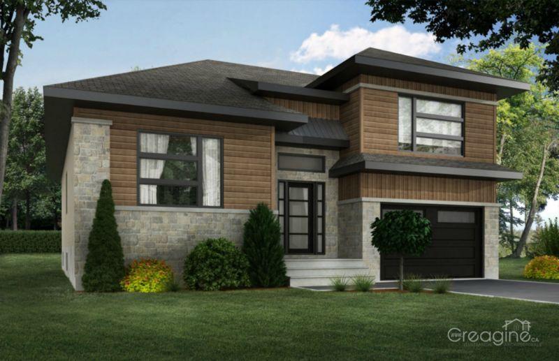 Facade Maison Contemporaine Quebec Recherche Google Architecture House Styles House Design