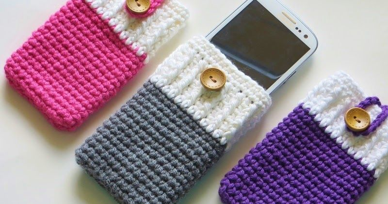 Mobile Phone Cozy or Case Crochet Pattern, I phone Cozy, Samsung ...