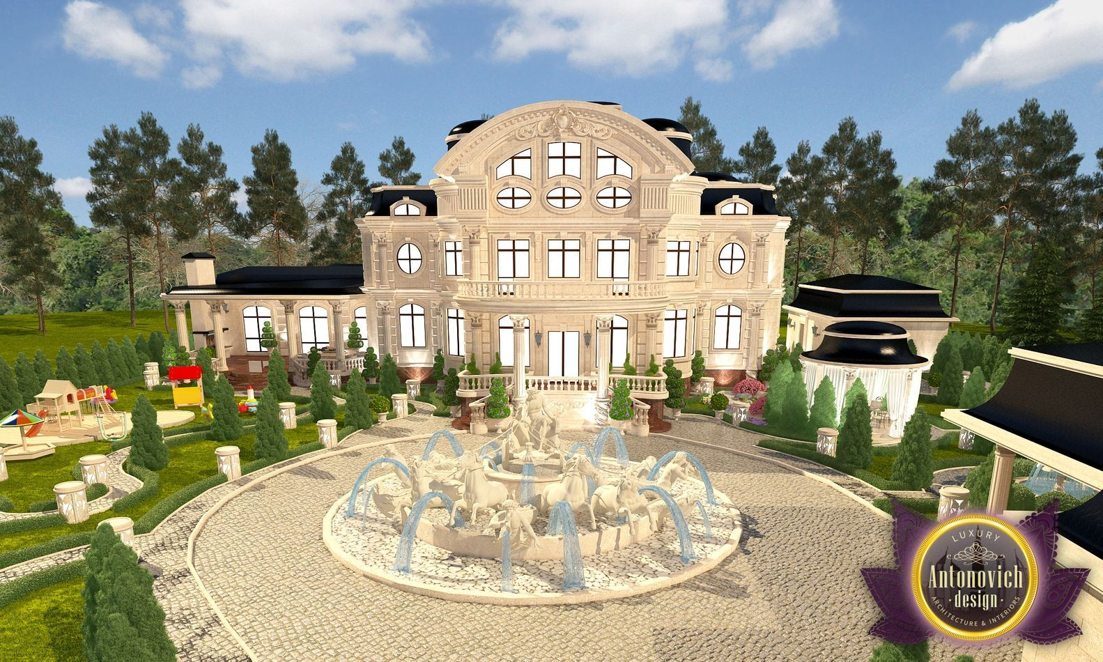 Each project Luxury Antonovich Design is a new expressive image of someone's dreams. Luxury villa became the epitome of refinement of the ...