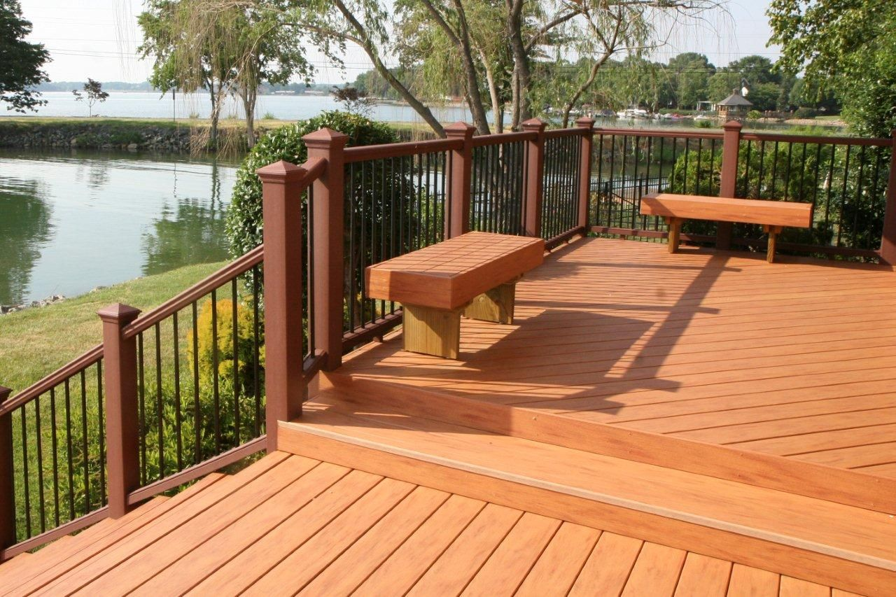deck plans and ideas decking designs for a truly great outdoor space great railing