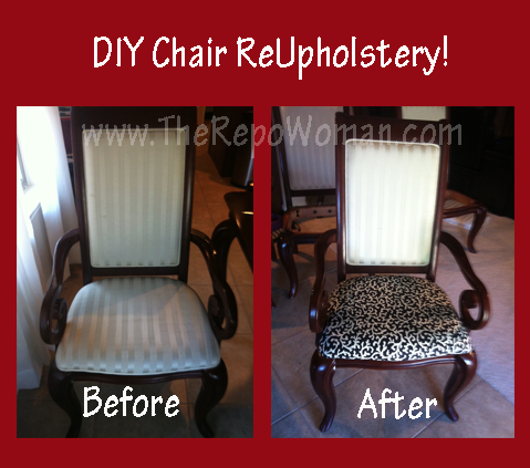 Do It Yourself Chair ReUpholstery · Chair ReupholsteryDiy StorageDining Room  ...