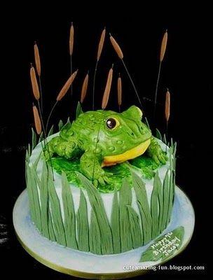I love amazing cake designs, a weird source of inspiration!