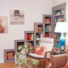 Photos Design On A Dime Hgtv Home Decor Pinterest Built