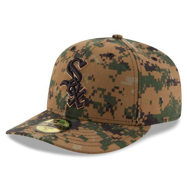 buy popular 3a9da ec2e4 Men s Chicago White Sox New Era Digital Camo 2016 Memorial Day Low Profile  59FIFTY Fitted Hat,  37.99