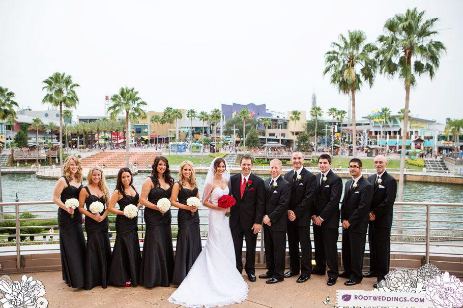Hard Rock Cafe Orlando City Walk Universal Studios Wedding
