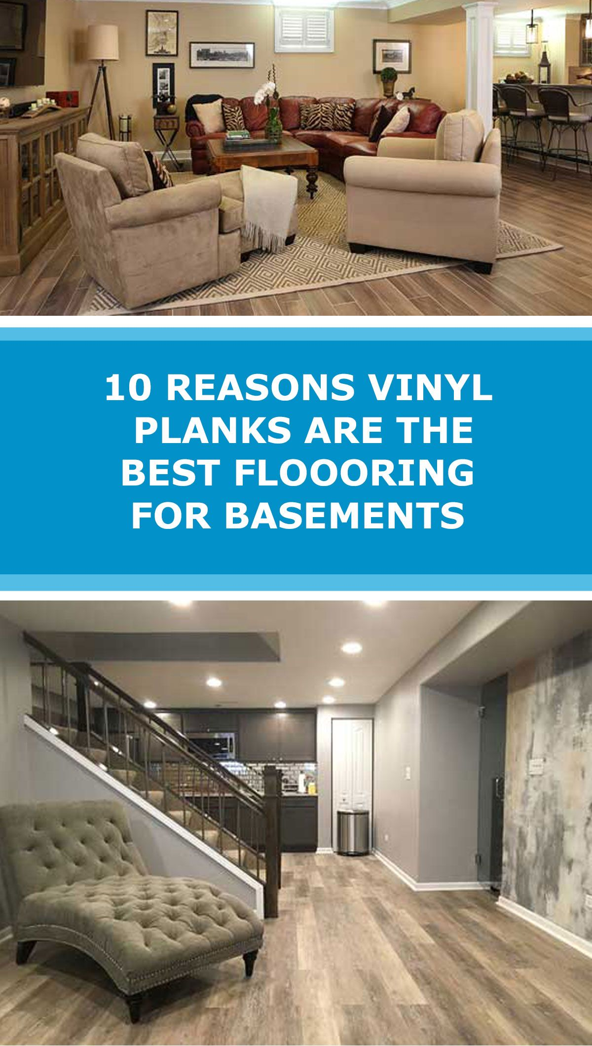 Why Vinyl Planks Are The Best Flooring For Basements