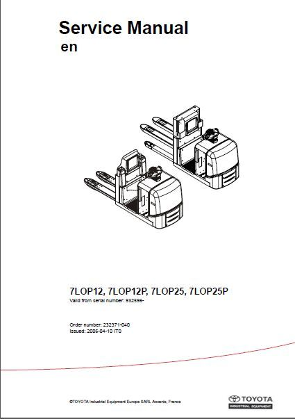 forklifts service manual and operators manuals and parts catalogs rh pinterest com toyota operators manual 8fbcu20 toyota operators manual forklift 8fbe15u