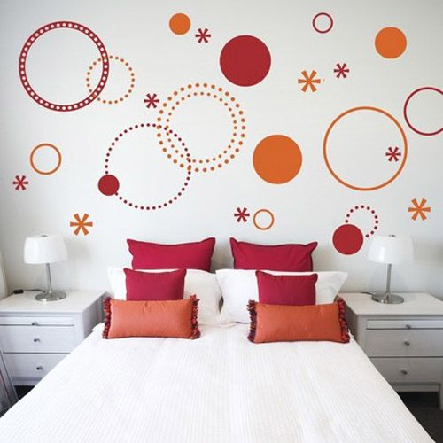 Stenciling Images And Patterns On Walls And Furniture 21 Charming