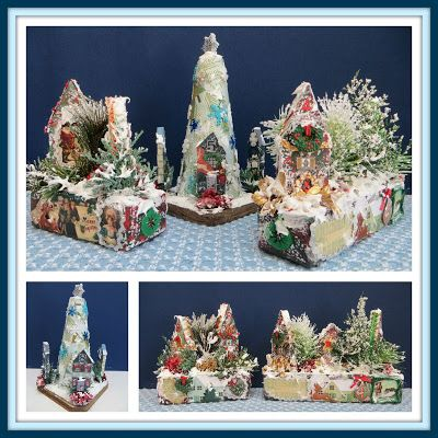Linda Walsh Originals Dolls and Crafts Blog: My Tinytopia Miniature Houses