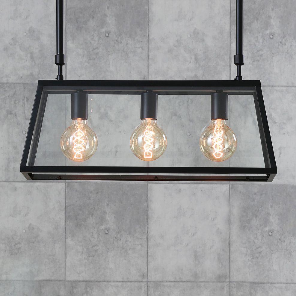 Light Living Hanglamp Svana 3 Lamps Glas Zwart Ll 3092312 Hanglamp Licht Glas