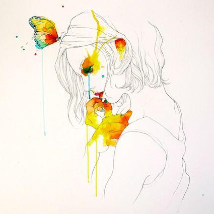 Barcelona, Spain artist Conrad Roset #art #illustration