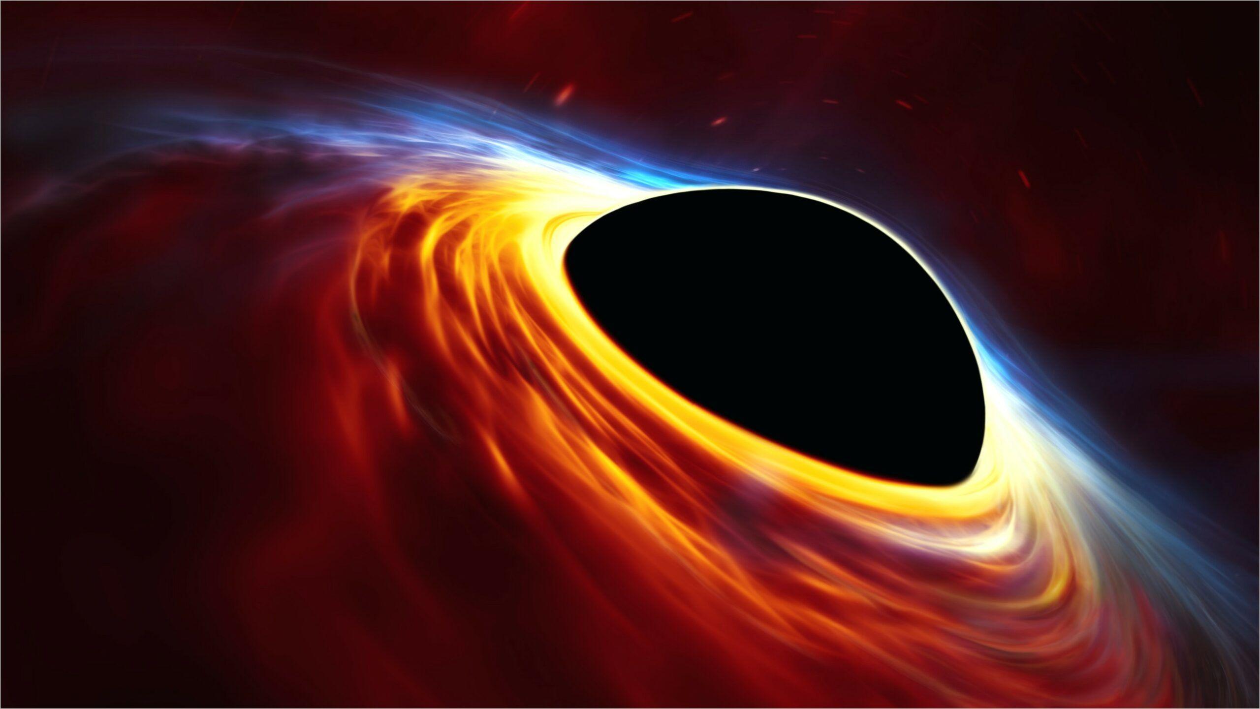 Flat Black Wallpaper 4k In 2020 Black Hole Wallpaper Black Hole Black Wallpaper