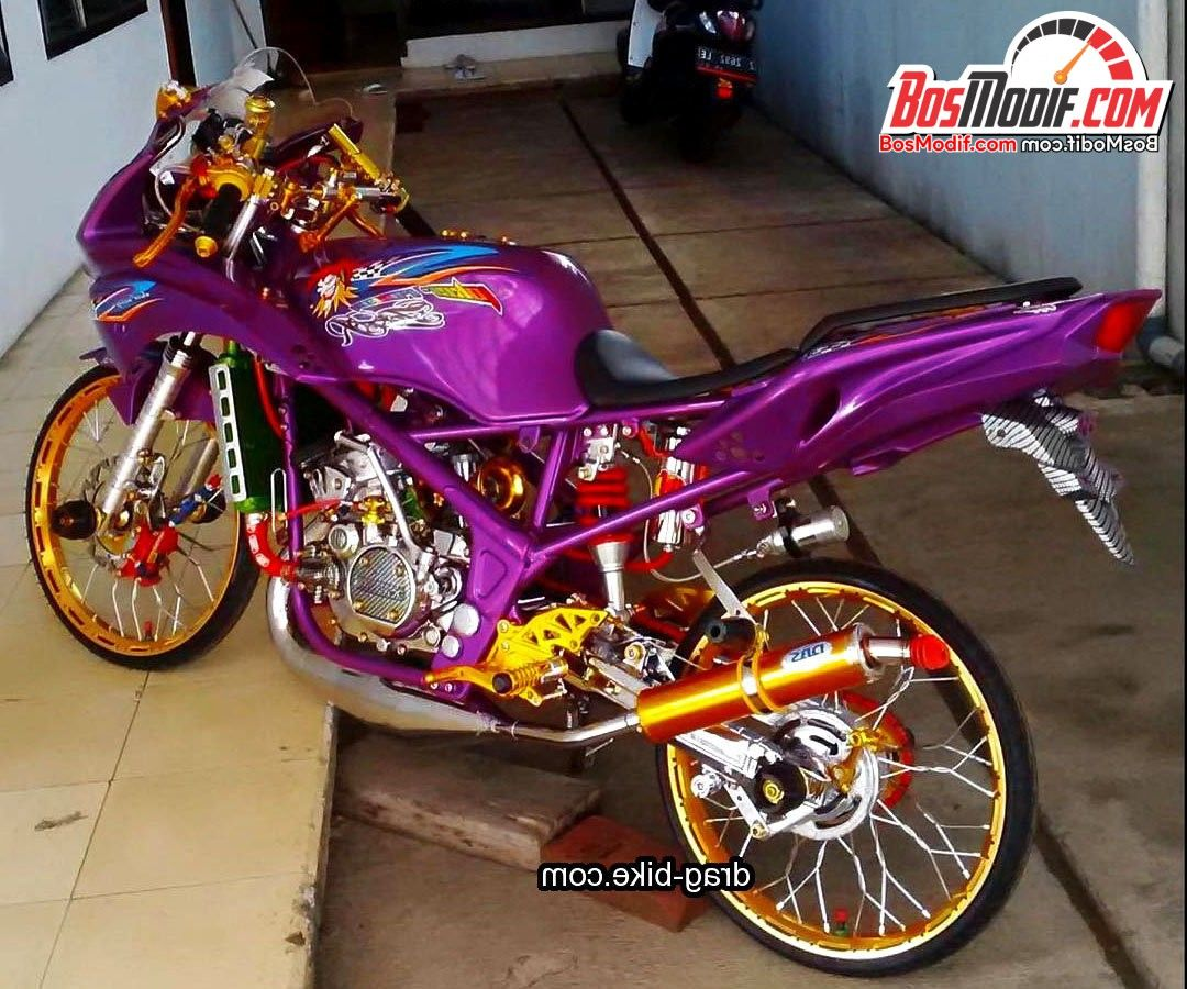 Download Koleksi 69 Modifikasi Motor Ninja Barong Terkeren