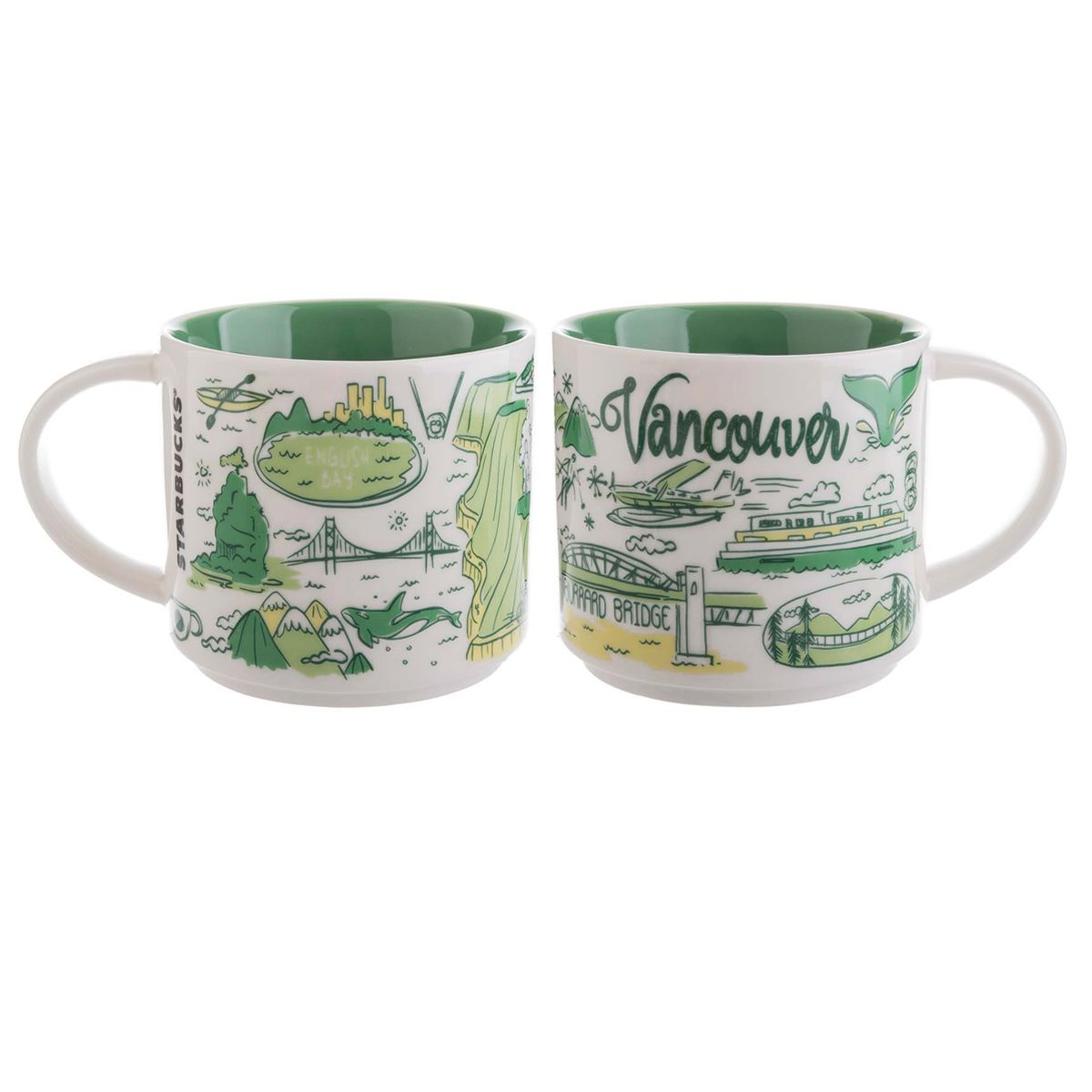 Vancouver A Collectible Mug From The Starbucks Been There Collection