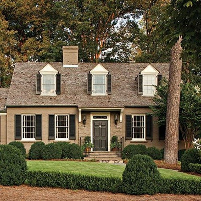 35 Amazing Traditional Cape Cod House Exterior Ideas Page 23 Of 38 Exterior House Colors French Country Exterior House Exterior