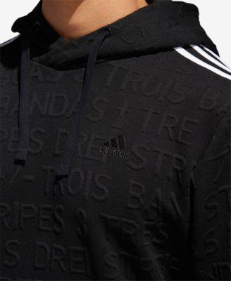 new product 2b52d 2779c adidas Men s Topography Jacquard-Print Hoodie   Reviews - Hoodies    Sweatshirts - Men - Macy s