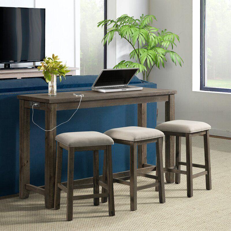 Admirable Ewenn Multipurpose 4 Piece Pub Table Set In 2019 98 Hazel Cjindustries Chair Design For Home Cjindustriesco