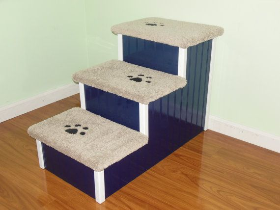 Fantastic Dog Stairs Sturdy All Wood Made In Usa 24H X 17W X Camellatalisay Diy Chair Ideas Camellatalisaycom