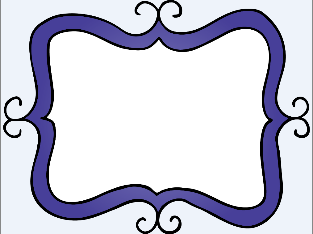 purple frame printables borders frames boarders