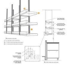 kitchen ceiling hanging shelves google search eddie glass shelves kitchen suspended. Black Bedroom Furniture Sets. Home Design Ideas