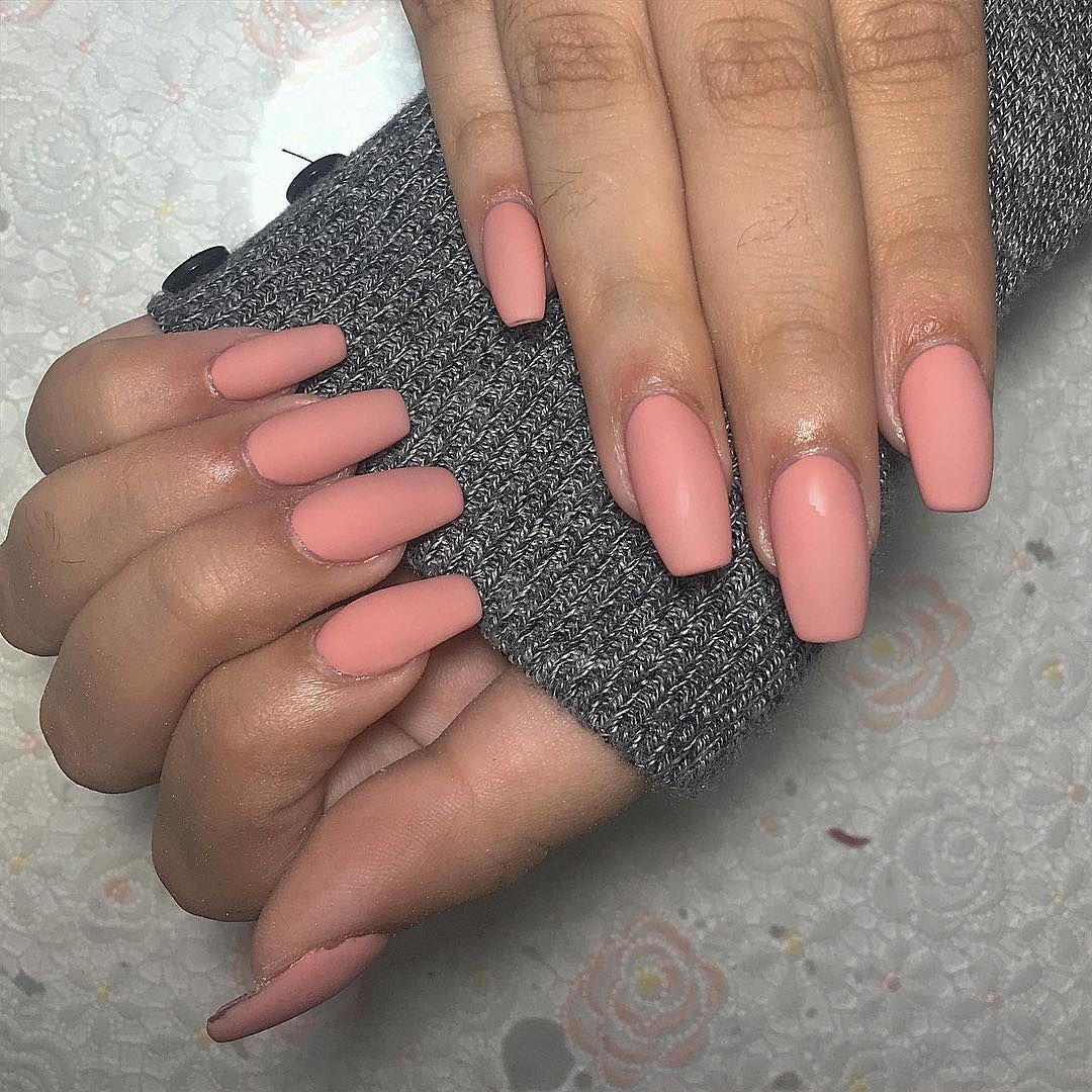 After 3 Weeks Pink Matte Nailsofinstagram Nails Acrylicnails Her Hernailsonfleek After 3 Weeks Pink Matte Nailsofinstagra Acrylic Nails Nails Pink