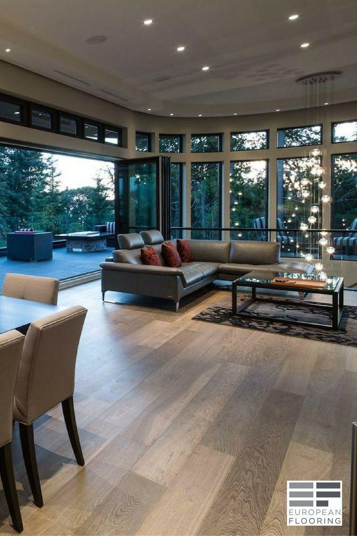 Oil finished engineered wood floor Planed 19 Atelier