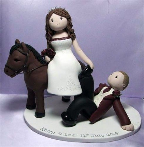 Bride Groom Horse Cake Topper This Will Be On My Especially