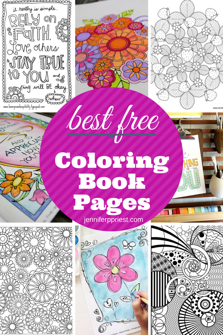 Best Free Coloring Book Pages | Colorear, Libros para colorear y Los ...