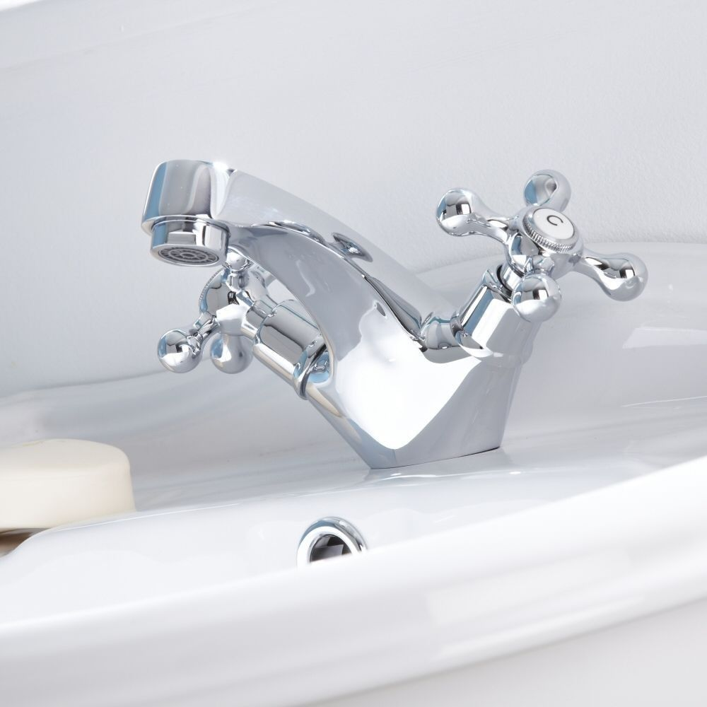 Victorian Traditional Basin Mono Mixer Tap   Mixer taps, Basin and Taps