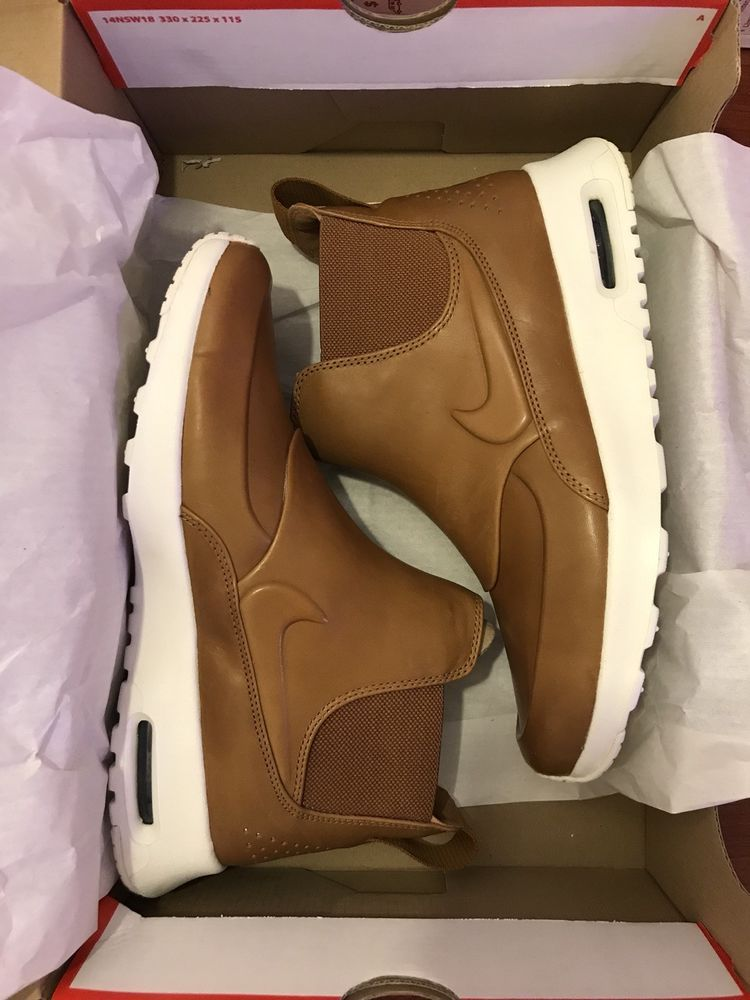 uk availability 4009d 7526c Nike Air Max Thea Mid Women s Casual Leather Shoes Boots 859550 200 Tan  Size 6.5  Nike  HighTop