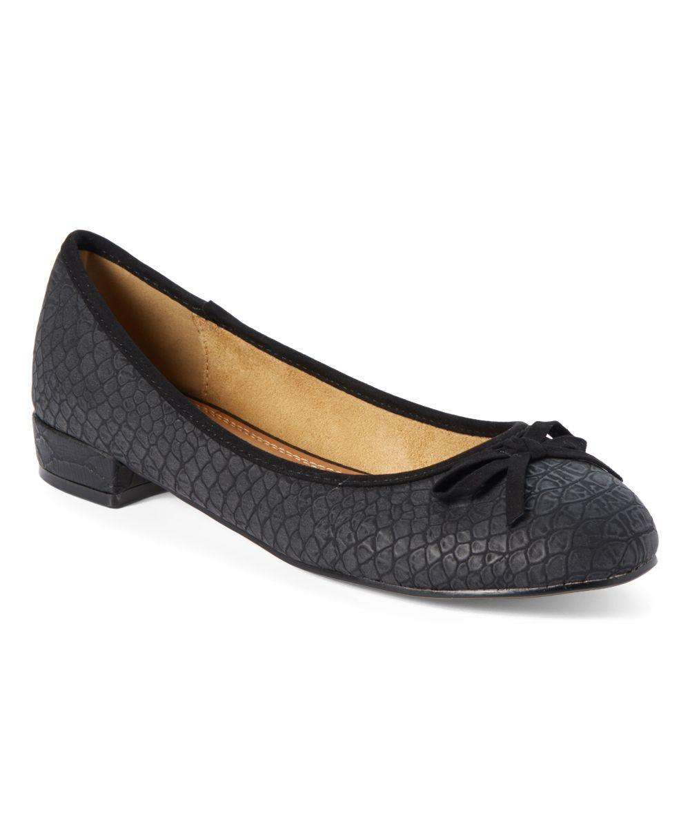 Black Elissa Ballet Flat