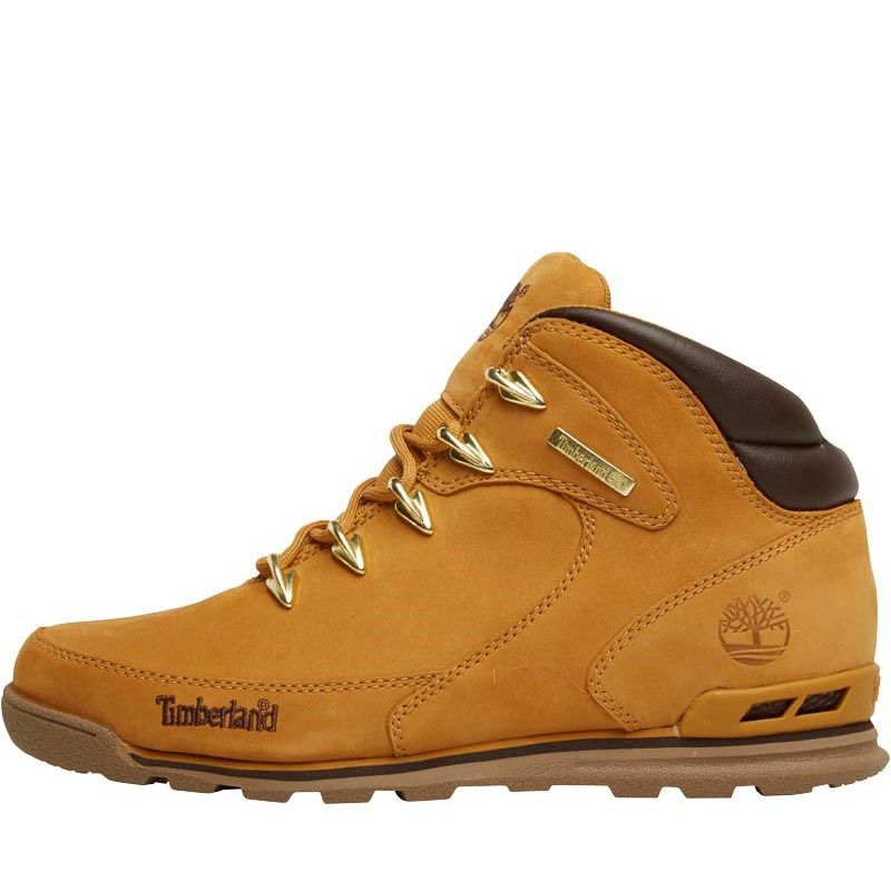 Tims boots · Timberland Bottes Euro Rock Hiker Nubuck Wheat Homme Jaune