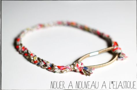 DIY le headband tressé liberty. Mode à faire soi même