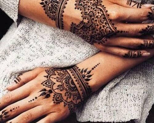 Mehndi Tattoo For Hand : Henna tattoo pinterest hennas and art