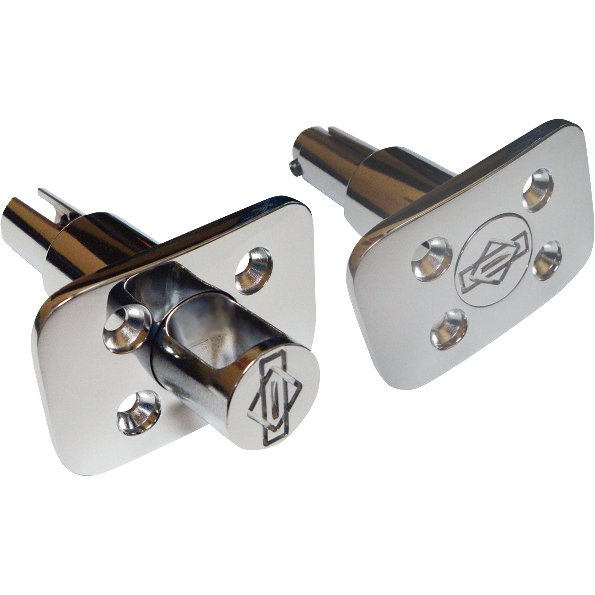 Better Built Stake Pocket PopUp TieDown Anchors — 2Pk
