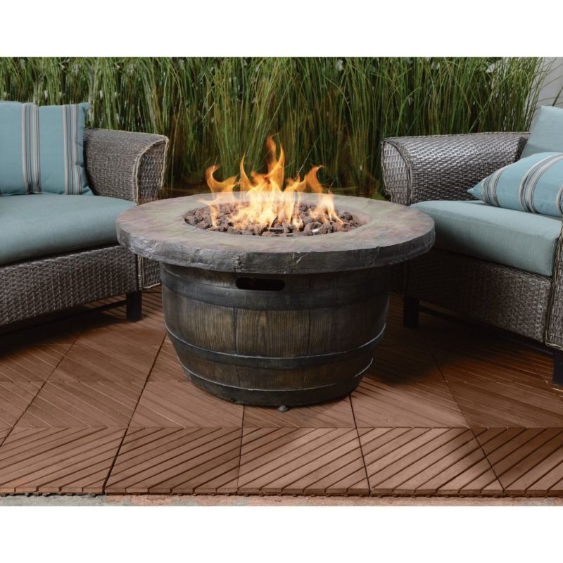 Vineyard Outdoor Propane Fire Table 50 000 Btu Yard Patio Deck Hot