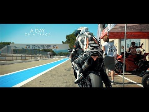 """Panasonic GH4 Film Look """"A DAY ON A TRACK"""" (Motorbike"""