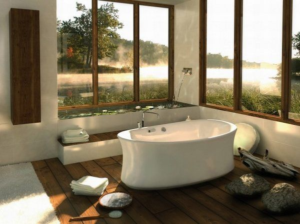 Delicieux 30 Beautiful And Relaxing Bathroom Design Ideas
