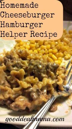 images about hamburger helper Homemade