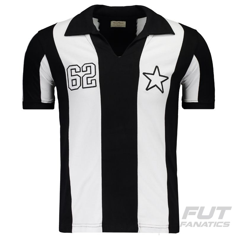 Camisa Retrômania Botafogo 1962 Somente na FutFanatics você compra agora  Camisa Retrômania Botafogo 1962 por apenas 1fb964efaa16c