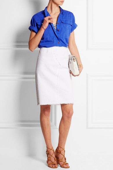 J.Crew | Kennebuc cotton-voile shirt | NET-A-PORTER.COM