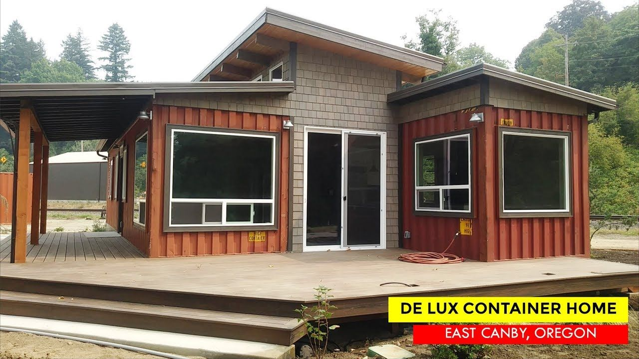 De Lux Shipping Container Tiny House by Relevant Buildings